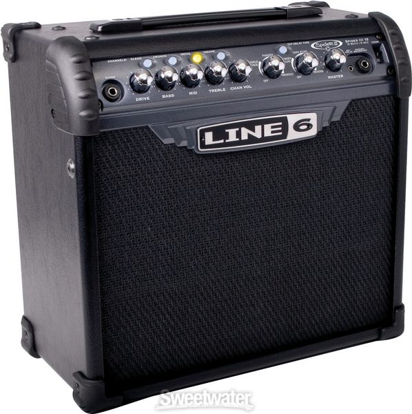 line 6 spider iii 15 sweetwater rh sweetwater com line 6 spider 3 head manual line 6 spider 3 manual download