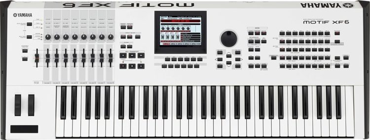 MOTIF XF6 - Special Edition White