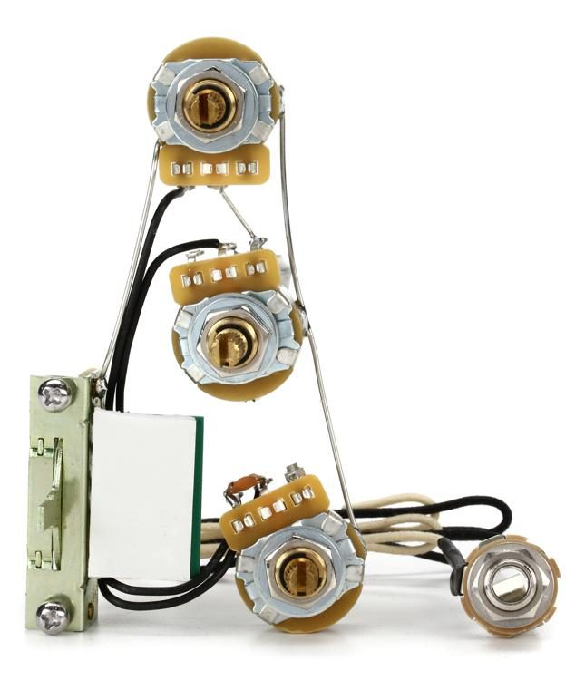 Solderless Strat Wiring Harness - Standard on