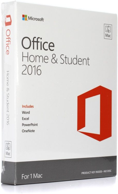 d299c9a92 Microsoft Office Home and Student 2016 for Mac image 1