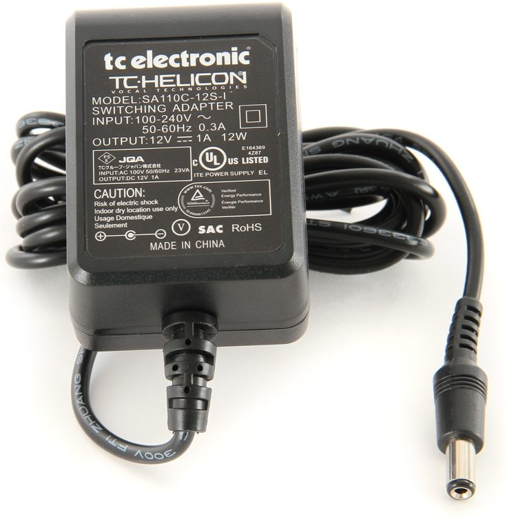AC Adapter for TC Helicon VoiceLive 3 Play Acoustic Voice Processor Power Supply