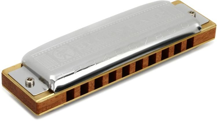 Hohner Blues Harp Harmonica - Key of B Flat | Sweetwater