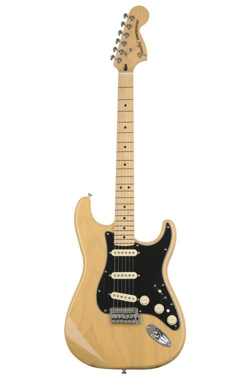 Fender Deluxe Stratocaster - Vintage Blonde with Maple ... on
