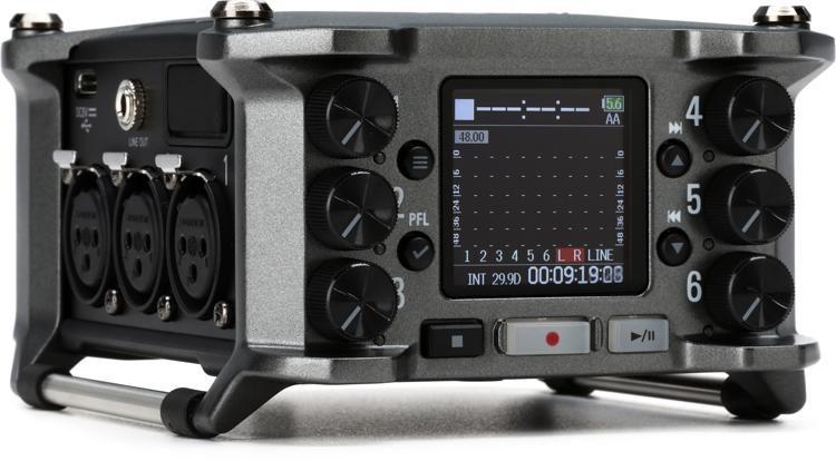 F6 Multitrack Field Recorder