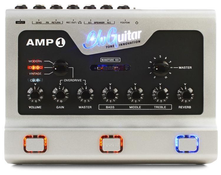Amp1 100-watt 4-channel Pedalboard Amp with Nanotube