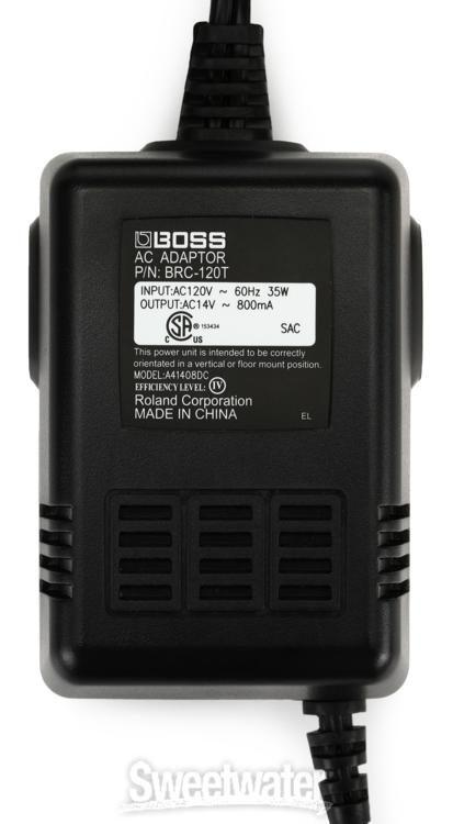 Boss BRC-120 AC Adapter | Sweetwater
