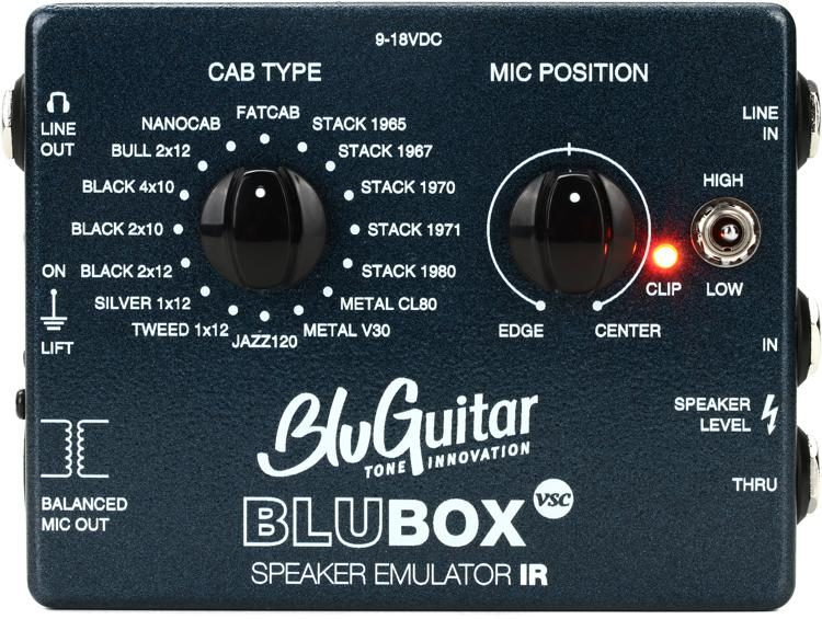 BluBox large bluguitar blubox impulse response speaker emulator sweetwater  at honlapkeszites.co