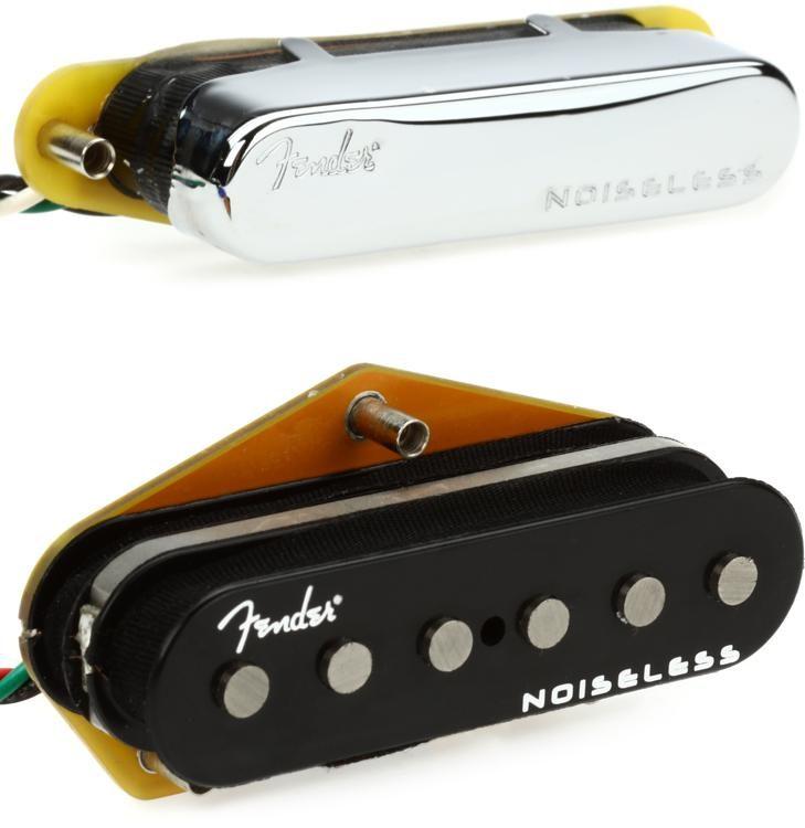 Fender Noiseless Pickups >> Fender Gen 4 Noiseless Telecaster Pickup Set Sweetwater