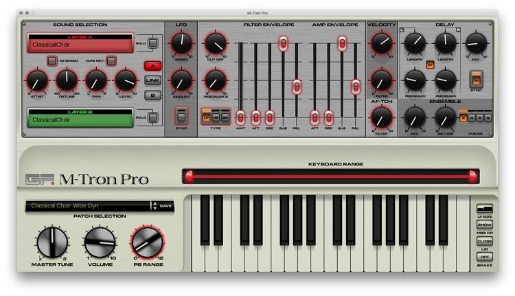 M-tron Pro Mellotron