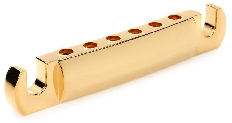 Bridge Stop Bar für LP E Gitarre Matching Post Stud Gold