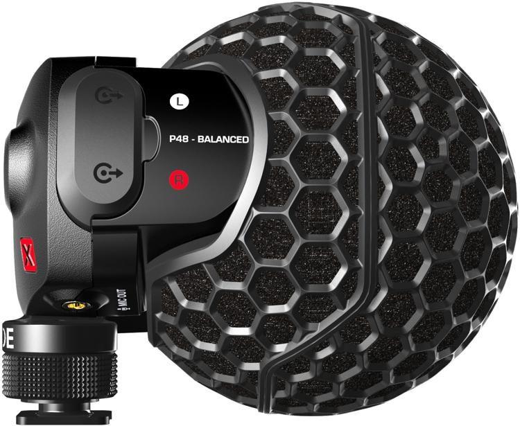 Stereo VideoMic X Camera-mount Stereo Microphone