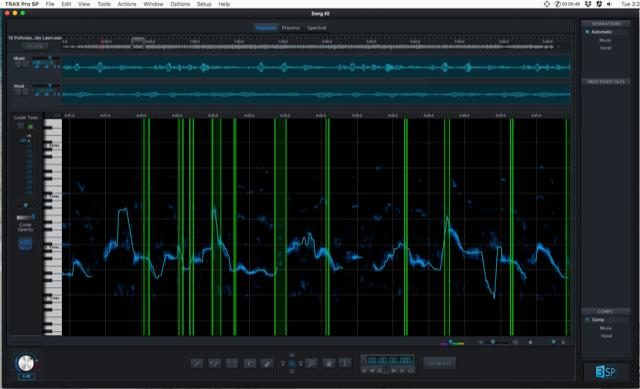 TRAX Pro 3 Melodic Separation Software