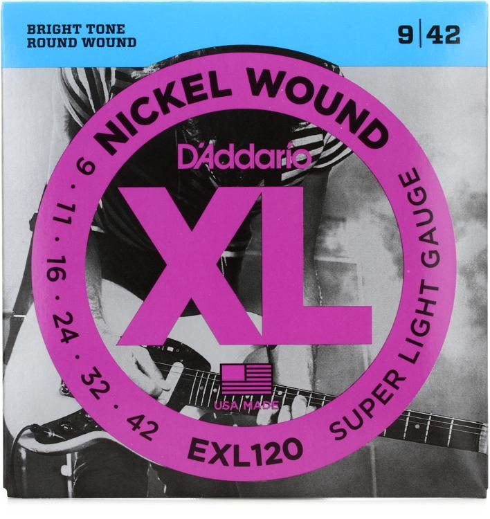D Addario Exl120 Nickel Wound Electric