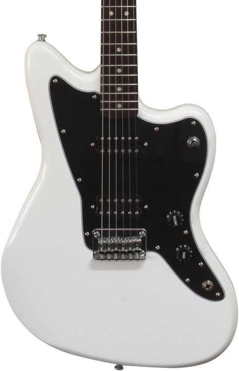 squier affinity series jazzmaster hh arctic white sweetwater