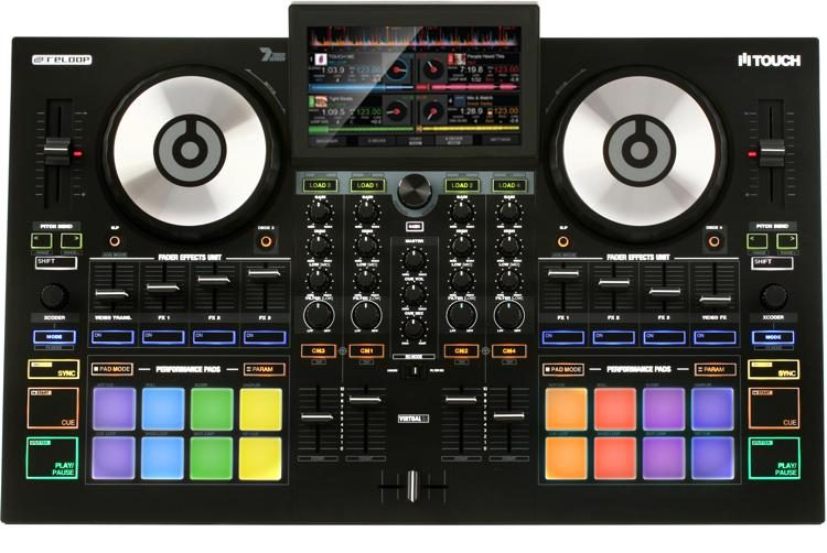 Touch 4-channel DJ Controller