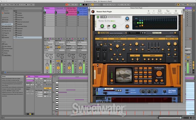 Reason Studios Reason 11 Download Sweetwater