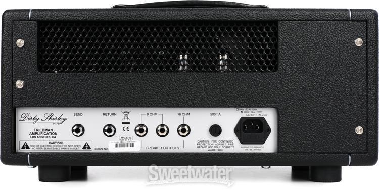Friedman Mini Dirty Shirley 20-watt Tube Head   Sweetwater