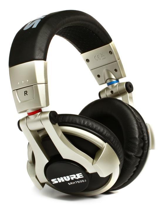 Shure SRH750DJ High Impedance Pro DJ Headphones  7b5fec40dd1d8