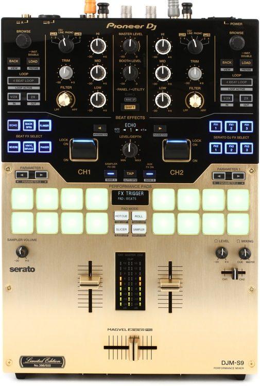DJM-S9 Gold Edition 2-channel Mixer for Serato DJ