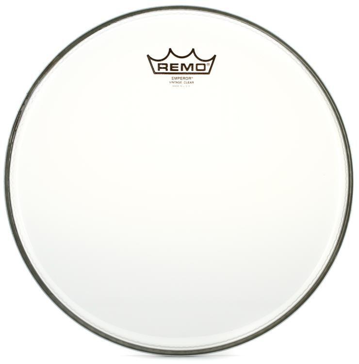 """Remo 12/"""" Vintage Emperor Clear Drum Head"""