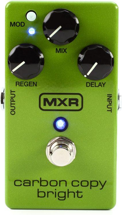 mxr m269se carbon copy bright analog delay pedal sweetwater