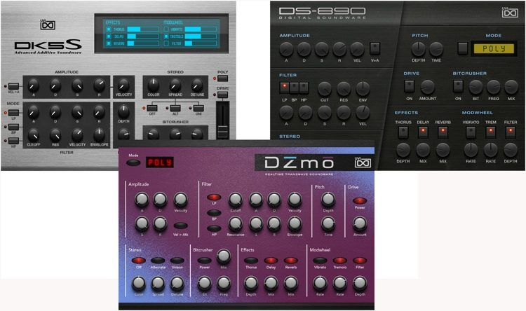 Digital Synsations Volume 2 Virtual Instrument Collection