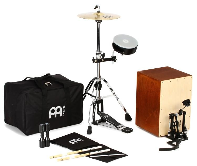 611f3fbfa698 Meinl Percussion Cajon Drum Set with Cymbals and Hardware
