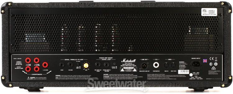 Marshall JVM410C Rear Panel