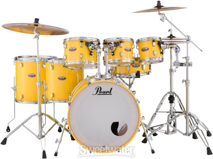 10 Piece Pearl Running Vortex Yellow