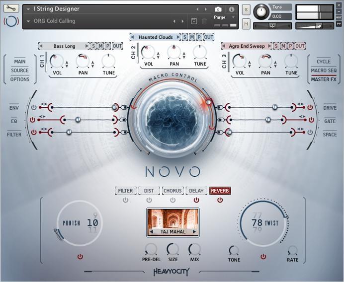 Heavyocity NOVO Modern Strings - (Academic Version) | Sweetwater
