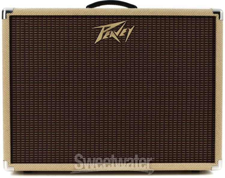 "Peavey Classic 112-C Electric Guitar Cab Single 12/"" Speaker Cabinet Mic Stand"