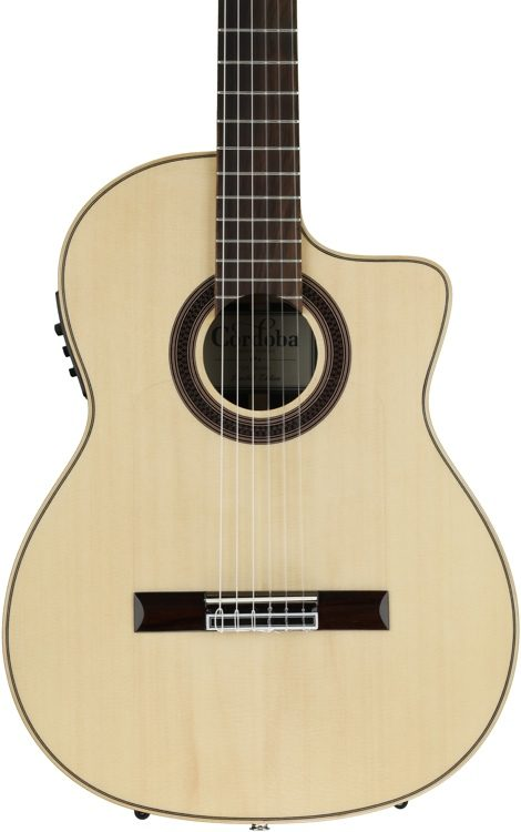 Cordoba Gk Studio Negra Ltd Guitare Flamenco Electro Housse Instruments De Musique