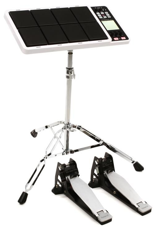 Roland Octapad Compact Electronic Drum Set - White | Sweetwater