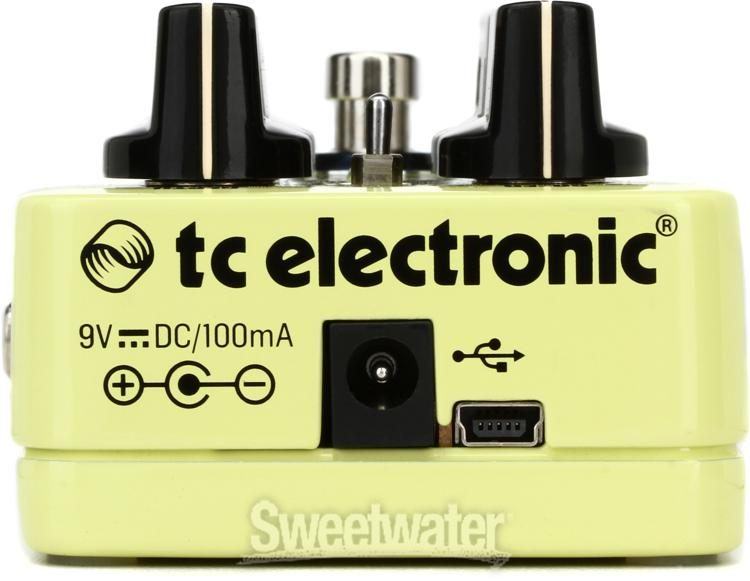 New TC Electronic Helix Phaser Guitar Effects Pedal Hosa Cables!