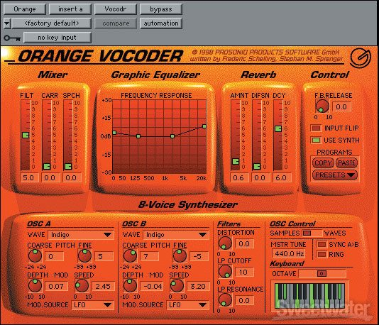 plugin orange vocoder