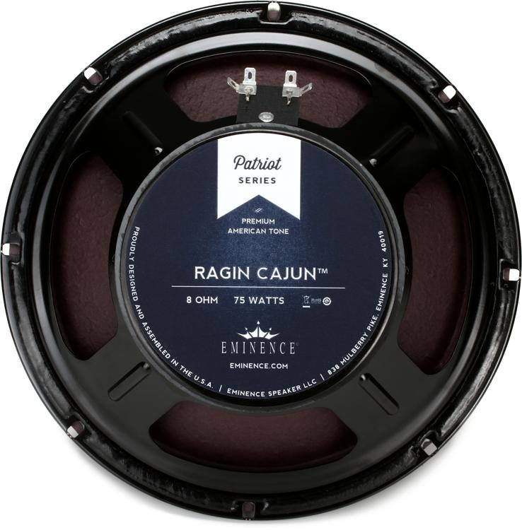 Image result for Eminence Patriot Ragin Cajun 10″ Acoustic guitar Speaker, 75 Watts from 8 Ohms