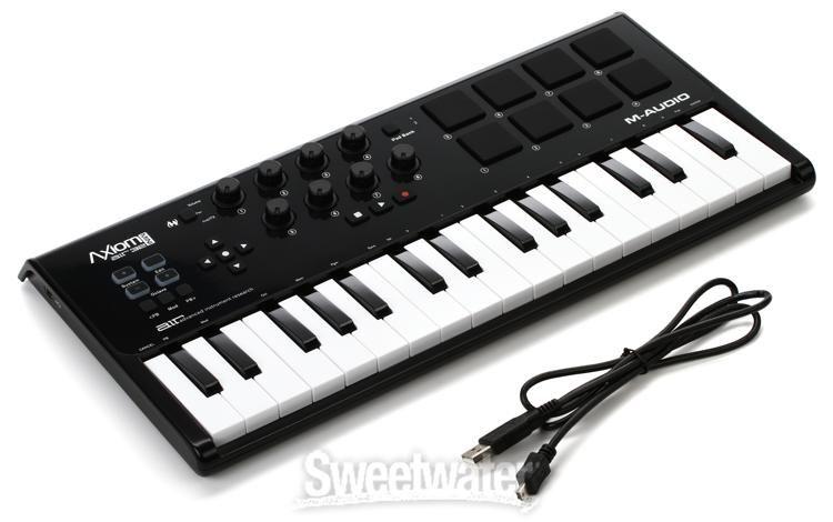 M-Audio Axiom AIR Mini 32-Note USB MIDI Controller Keyboard NEW