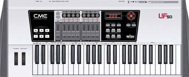 DRIVER UPDATE: CME UF SERIES MIDI KEYBOARD