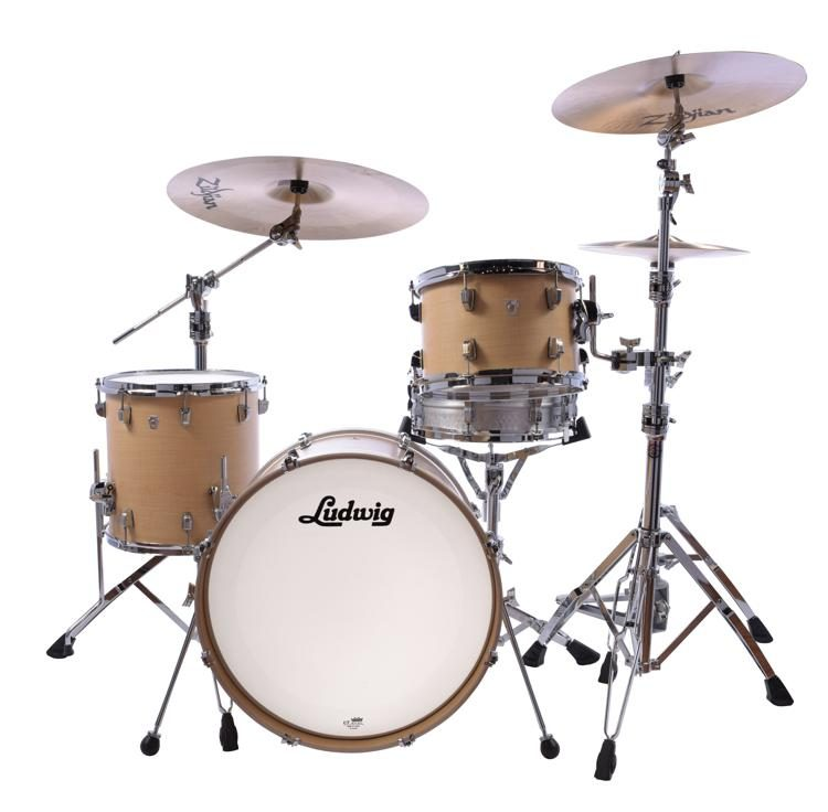 b15f3817f92e Ludwig NeuSonic 3-piece Shell Pack - 20