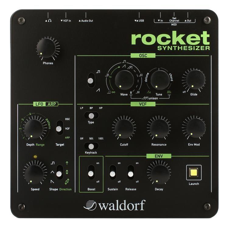 Rocket Desktop Synthesizer