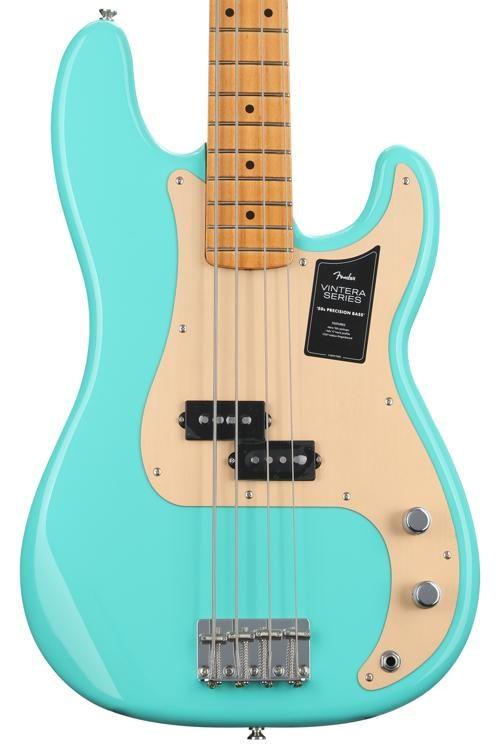 Vintera '50s Precision Bass - Sea Foam Green