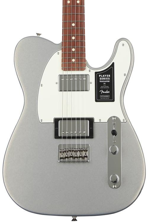 Fender Telecaster Hh >> Player Series Telecaster Hh Silver