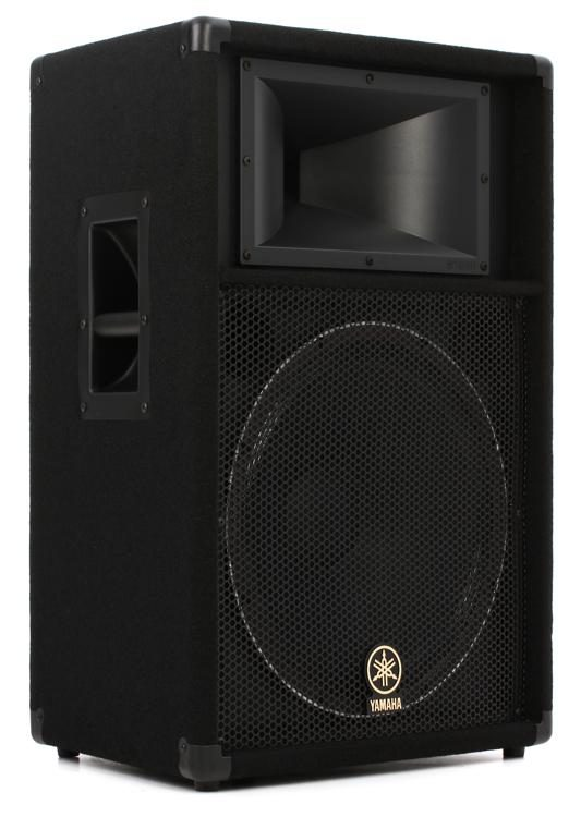 yamaha club v series s115v 1000w 15 passive speaker sweetwater rh sweetwater com
