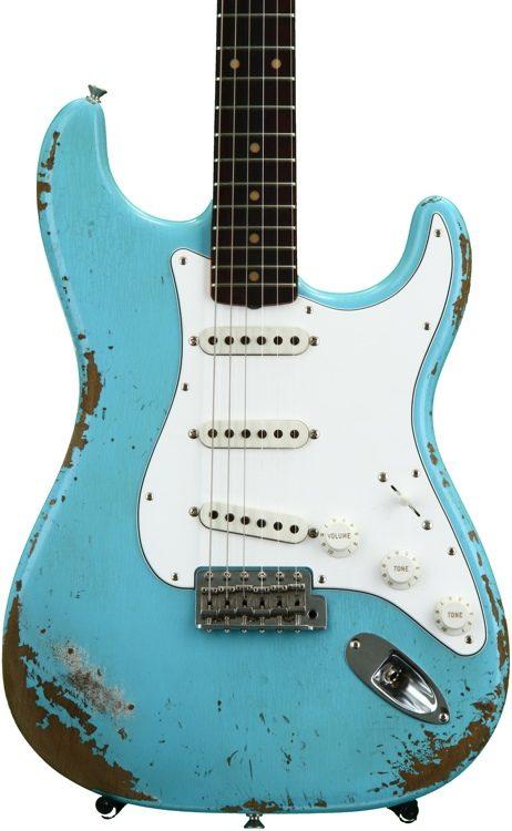 Fender Custom Shop \'59 Stratocaster Heavy Relic/Closet Classic Mix ...