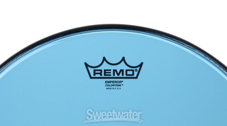 Remo Emperor Colortone Blue Drumhead 14