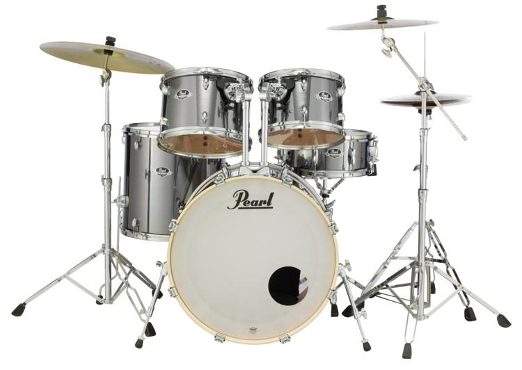 Pearl Export EXX 5 Piece Drum Set With Cymbals Hardware