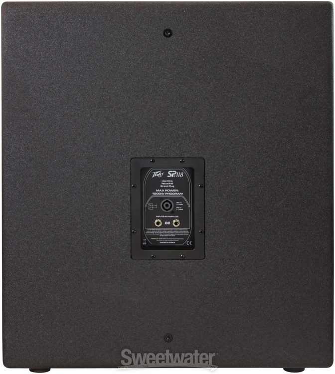 """Peavey Pro Rider Al Cp 18/"""" Sub Replacement Subwoofer For Sp218 Sp118 /& Mic New"""