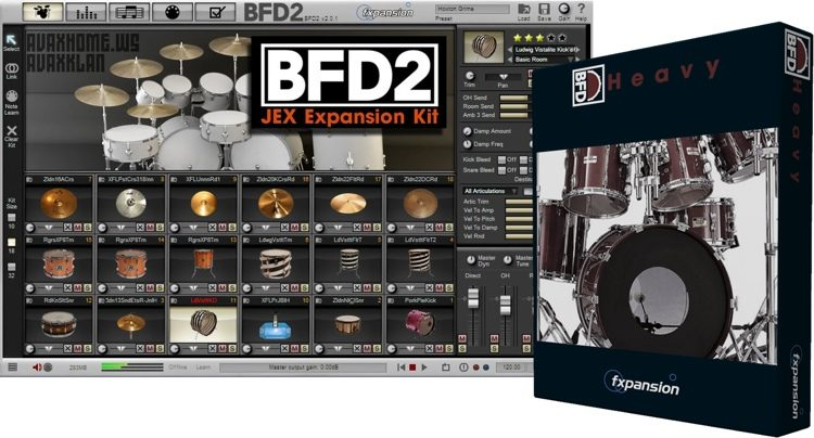 BFD Heavy Expansion Pack