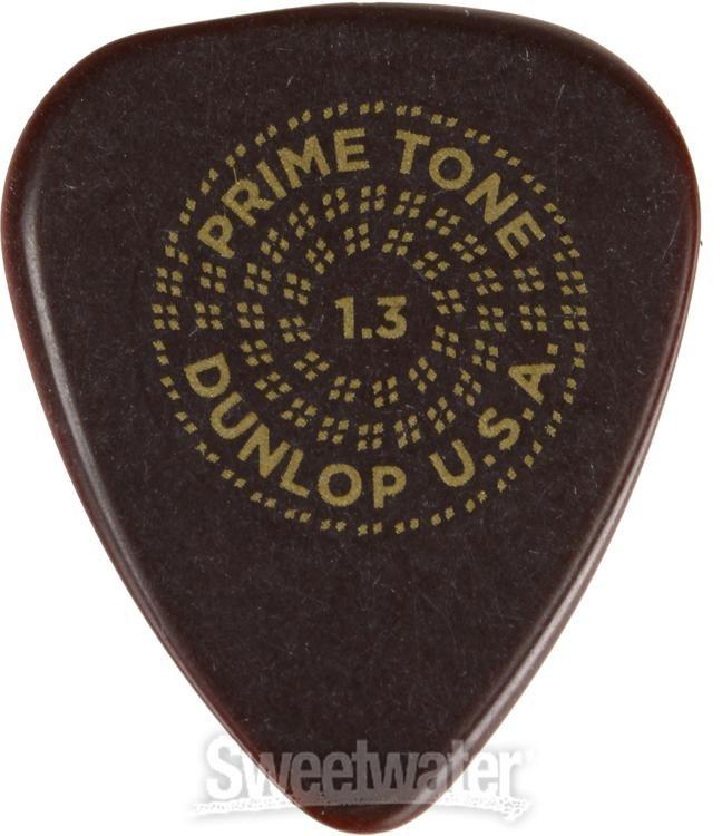Dunlop 510P Primetone Standard Sculpted Plectra Grip 1.3 mm 510R1.3 12-Pack