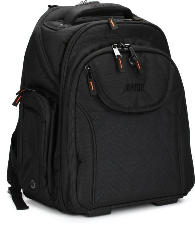 Gator G-CLUB Backpack-LG - Large G-CLUB Style Backpack. DJ Backpack with  1680-denier Exterior 95ac84e5ed6d4